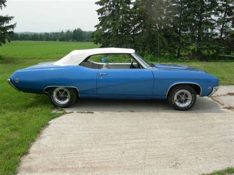 Sell Used 1969 Buick Skylark Gs Convertible 4spd In London