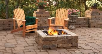Menards Patio Paver Kits by Simple Backyard Fire Pit Ideas Marceladick Com