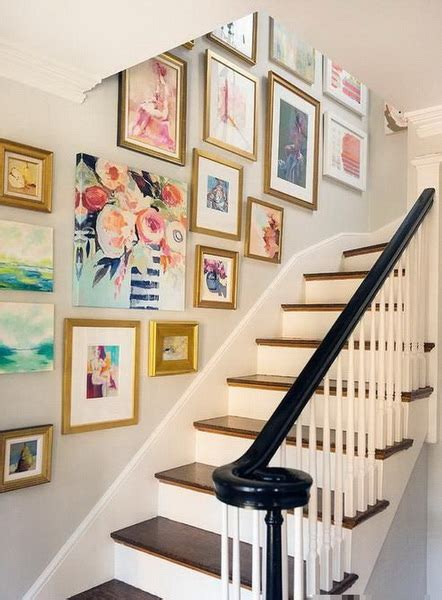 Decorating Ideas Photos by 21 Chic Staircase Wall Decoration Ideas Listing More
