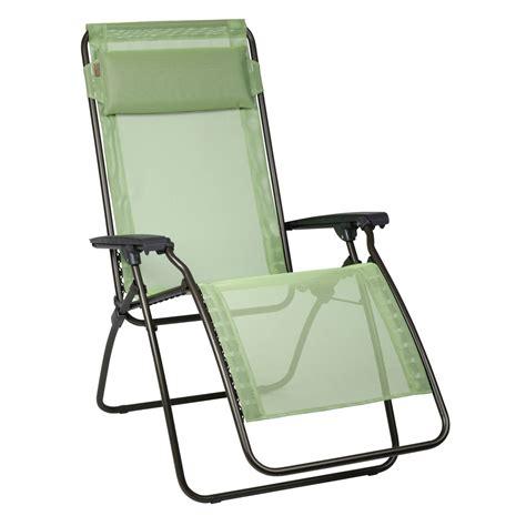 siege relax lafuma fauteuil relax lafuma vert absinthe transat chilienne