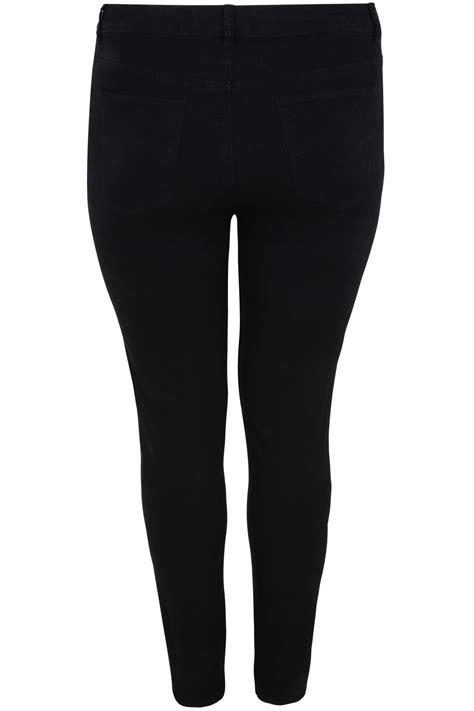 Jeans Skinny Basique Noir 5 Poches