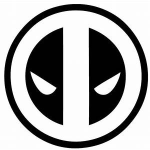 Deadpool Logo Vinyl Decal Wall Art