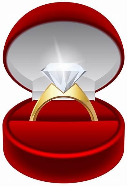 Ring Engagement Transparent Clip Clipart Diamond Rings