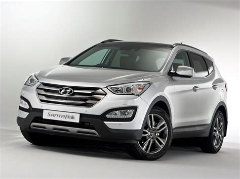hyundai santafe cool hyundai santa fe 2013 car photo 05 of 10 diesel