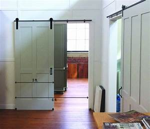 5 things to know before you install that barn door of your With barn door wide opening