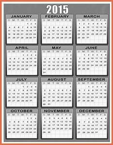 printable yearly calendar 2015 bio example With 2015 yearly calendar template