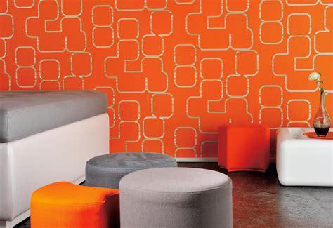papier peint design pour salon en accord avec elegant