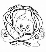 Coloring Cabbage Pages Colouring Printables Books Adult Embroidery Hand Designs Fruit Orange Printable Vegetables Sheets Stencils Preschool Templates Activities Education sketch template