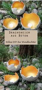 Windlichter Aus Beton Gießen : diy pinienzapfen aus beton beton pinterest selber machen anleitungen diy beton und beate ~ Orissabook.com Haus und Dekorationen