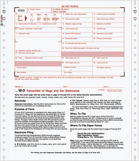 continuous w 3 transmittal of income costco checks