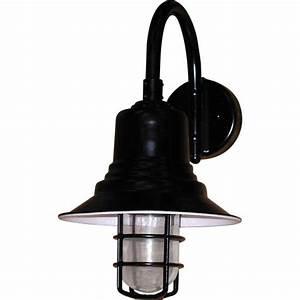 Barn light nautical led w grid by lampiste lighting