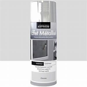 peinture aerosol effet metallise metallise rustoleum With bombe peinture bois exterieur