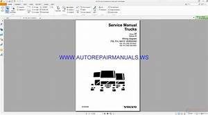 Volvo Fmfhnh12 Version2 Trucks Wiring Diagram Service