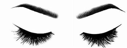 Eyelashes Lashes Transparent Eyes Brows Cartoon Clipart