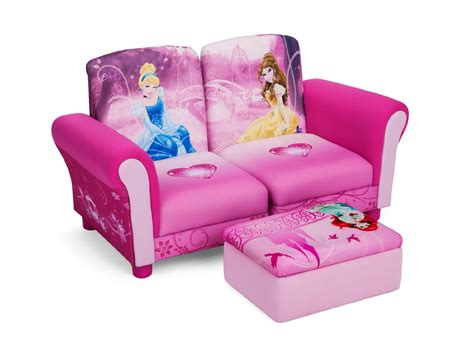 Sofa Chair For Toddler by Delta Children Disney Princess 3 Pc Upholstered