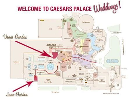 Caesars Palace Forum Shops Floor Plan by Chad Litoborski And Evangeline Hilos S Wedding Website