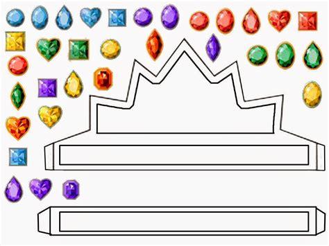 crowns  tiaras  printables  templates