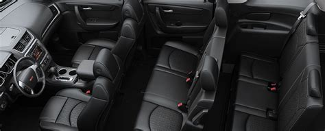 gmc acadia interior features gm fleet