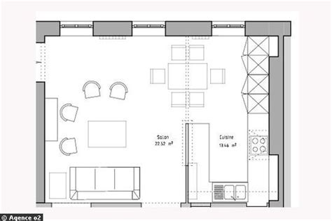 plan de cuisine ouverte 12 idées de cuisines avec plans et photos côté maison