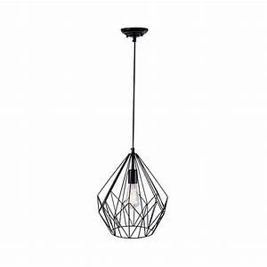 Grand Lustre Moderne : lustre moderne design d cadi noir millumine ~ Teatrodelosmanantiales.com Idées de Décoration