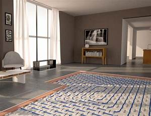 plancher chauffant rafraichissant basse temperature With parquet sur plancher chauffant basse température
