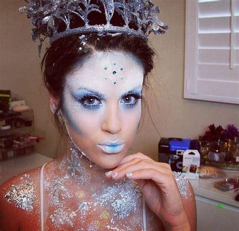 eiskönigin make up die besten 25 eis k 246 nigin ideen auf eisk 246 nigin make up schneek 246 nigin make up und