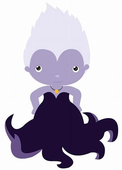 Disney Svg Villain Maleficent Ursula Clipart Scrapbook