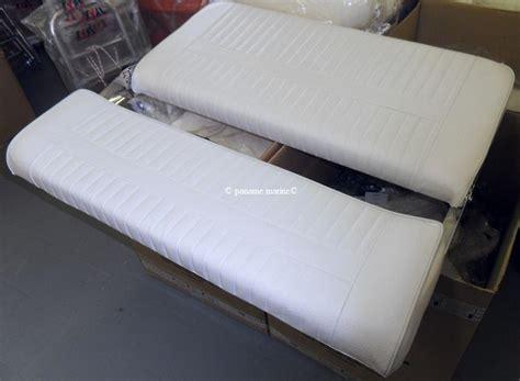 siege coffre bateau siège anatomique biplace avec dossier rabattable 48 415 03