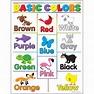 Basic Colors Learning Chart - T-38208   Trend Enterprises Inc.