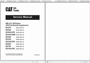 Caterpillar Lift Truck Gc55k Str Service Manuals - Homepage