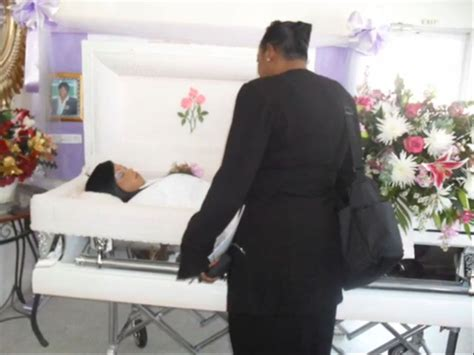 The vein surrounded with care and love, graduated from school, entered the university on journalism faculty. Beautiful Girls in Their Coffins - Section 5