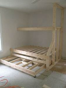 Bunk Bed Construction Day 1
