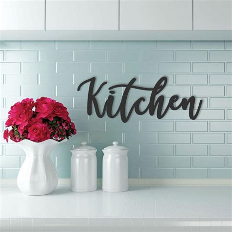 I was, genesis credit for 2500.00. Gracie Oaks Cursive Word Kitchen Sign Wall Décor & Reviews   Wayfair