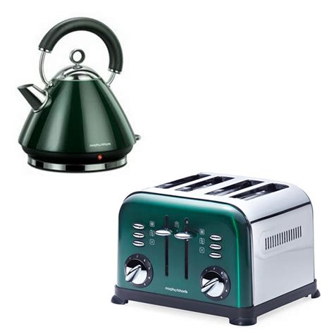 morphy richards toaster and kettle morphy richards kettle and toaster pack 43856 44731
