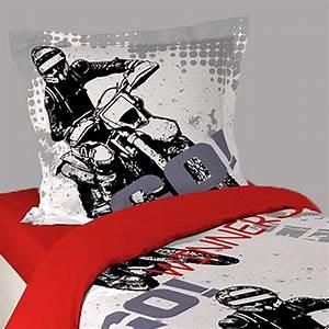 Vidéo De Moto Cross : housse de couette moto cross taie d 39 oreiller ~ Medecine-chirurgie-esthetiques.com Avis de Voitures