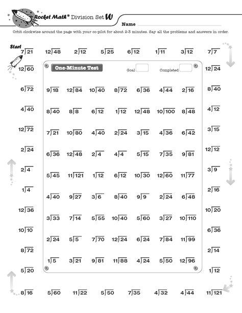 images  rocket math division worksheets letter  rocket math addition worksheets