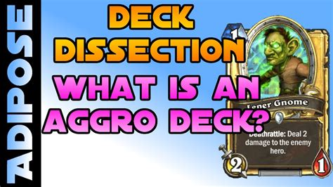 hearthstone aggro deck search results what is an aggro deck deck dissection 2 hearthstone