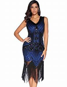 Meilun 1920s Sequined Inspired Beaded Gatsby Flapper ...