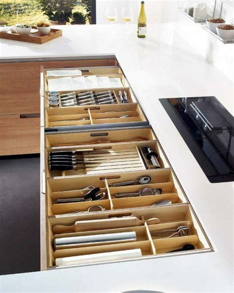 kitchen utensil organization 57 praktische ideen f 252 r die organization der 3421