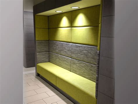 alcove seating   wallsstraight  curved