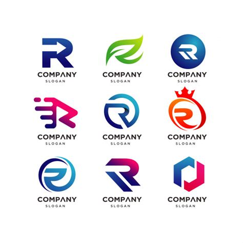 sekretär modern design cole 231 227 o de modelo de design de logotipo letra r modern r logo baixar vetores premium
