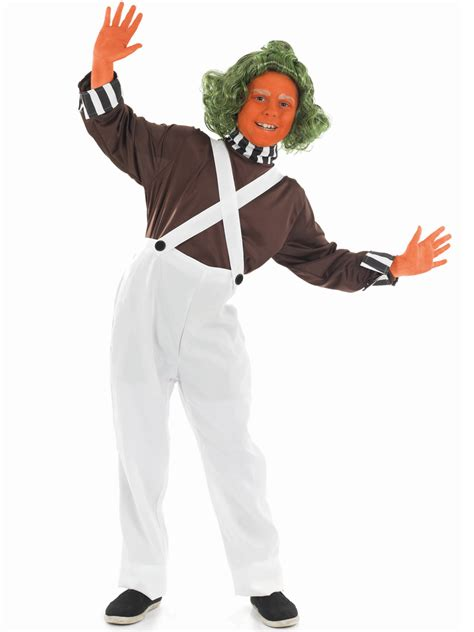 Childrens Halloween Books Uk by Child Oompa Loompa Factory Worker Costume Fs2984 Fancy