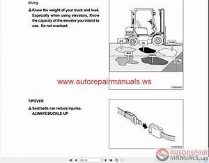 Hyundai Forklift Truck 2015 Operating Manual