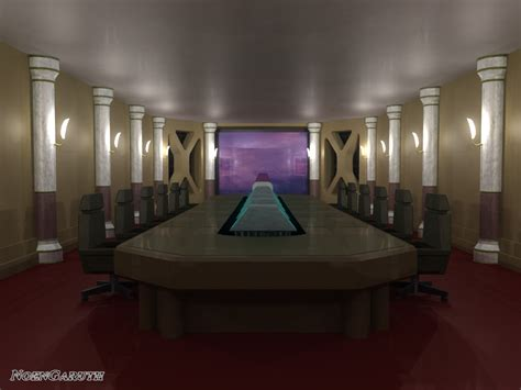 shinra conference room by noengaruth on deviantart