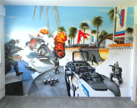 chambre graffiti deco chambre garcon graffiti