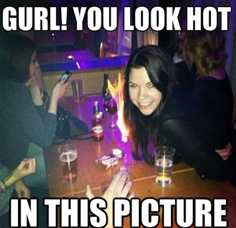 Hot Chick Meme - wow girl you look so hot