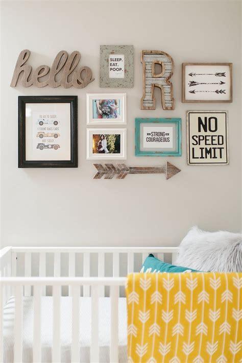 ideas  nursery wall collage  pinterest
