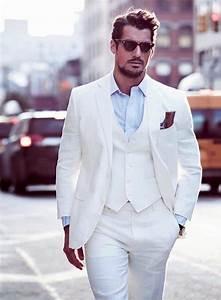 Costume Homme Mariage Blanc : costume 3 pi ces homme tenue de salon en trois actes obsigen ~ Farleysfitness.com Idées de Décoration