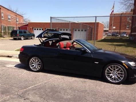 Bmw 335i Hardtop Convertible by Find Used 2008 Bmw 335i Hardtop Convertible In Black With