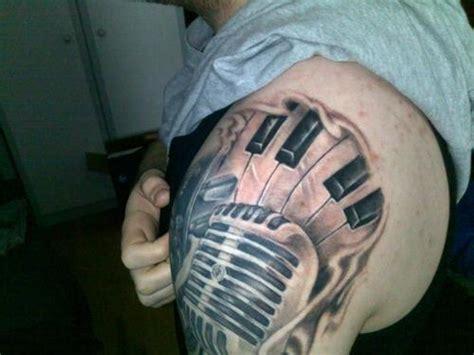 amazing piano tattoos